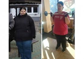 Mínusz 47 kg kúrával, testmozgással - László Mária látványos tapasztalata